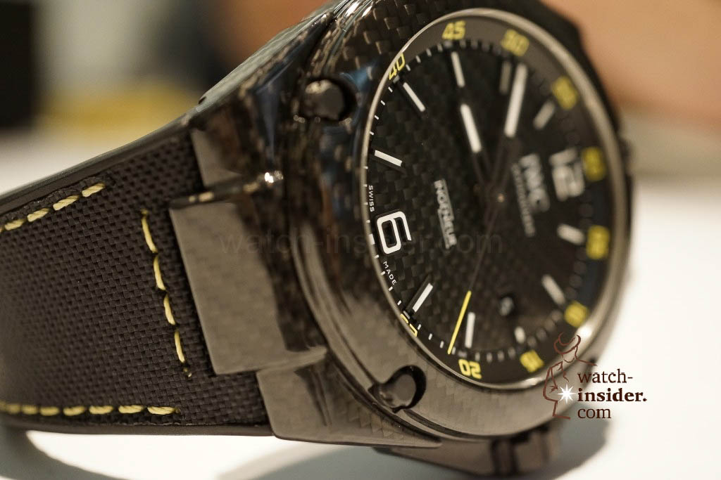 www.watch insider.com | reportages news  | These are the novelties 2013 of IWC presented at the SIHH in Geneva | DSC1433 1024x683