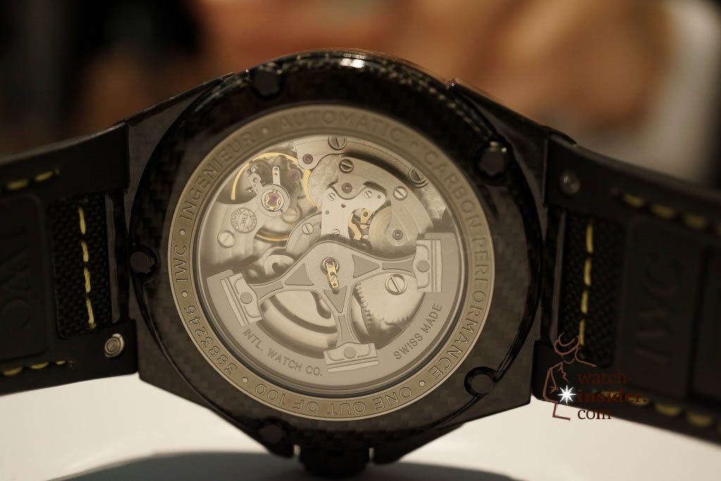 www.watch insider.com | reportages news  | These are the novelties 2013 of IWC presented at the SIHH in Geneva | DSC1436 1024x683