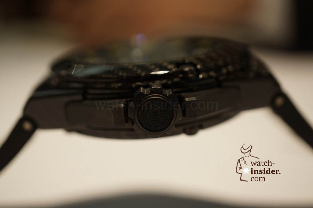 www.watch insider.com | reportages news  | These are the novelties 2013 of IWC presented at the SIHH in Geneva | DSC1438 1024x683