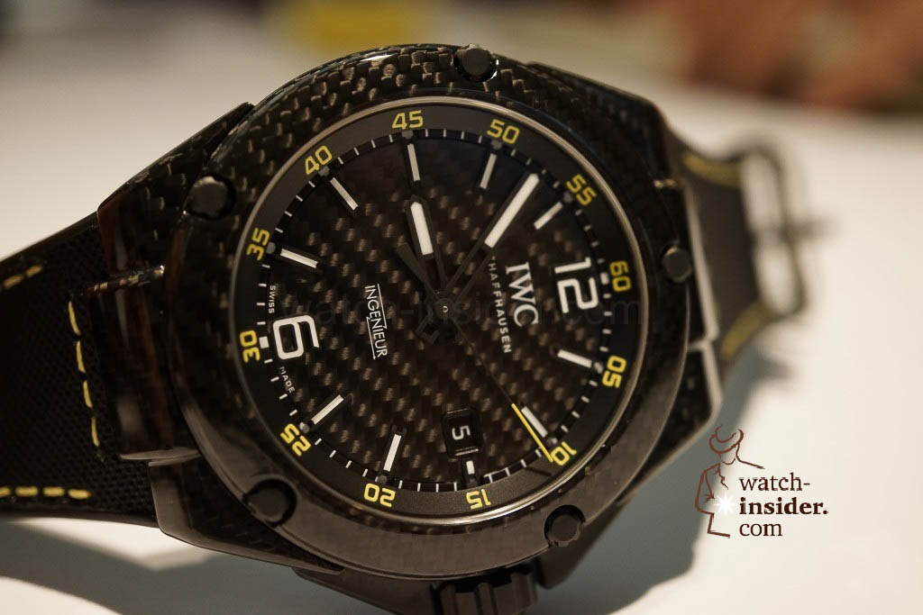 www.watch insider.com | reportages news  | These are the novelties 2013 of IWC presented at the SIHH in Geneva | DSC1440 1024x683