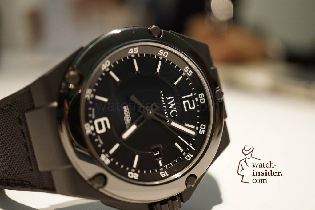 www.watch insider.com | reportages news  | These are the novelties 2013 of IWC presented at the SIHH in Geneva | DSC1442 1024x683