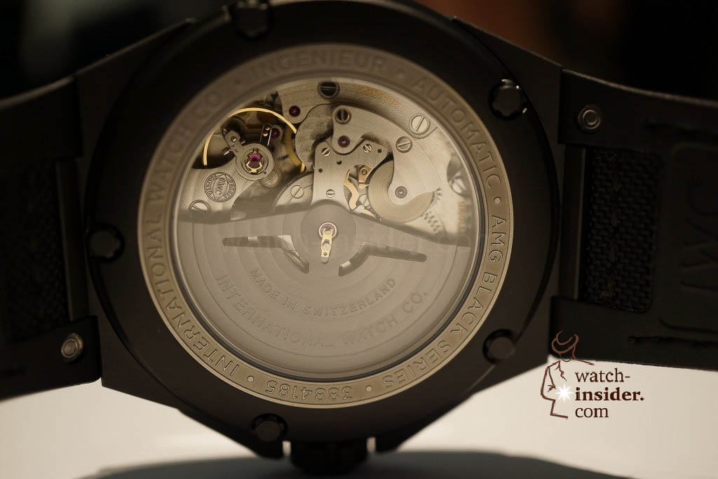 www.watch insider.com | reportages news  | These are the novelties 2013 of IWC presented at the SIHH in Geneva | DSC1443 1024x683