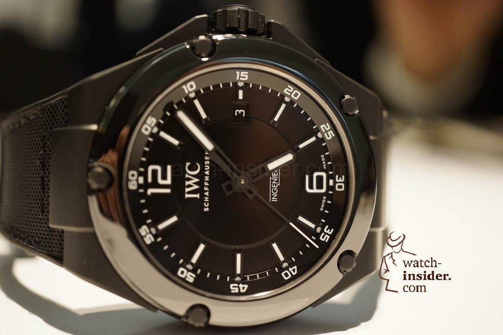 www.watch insider.com | reportages news  | These are the novelties 2013 of IWC presented at the SIHH in Geneva | DSC1445 1024x683