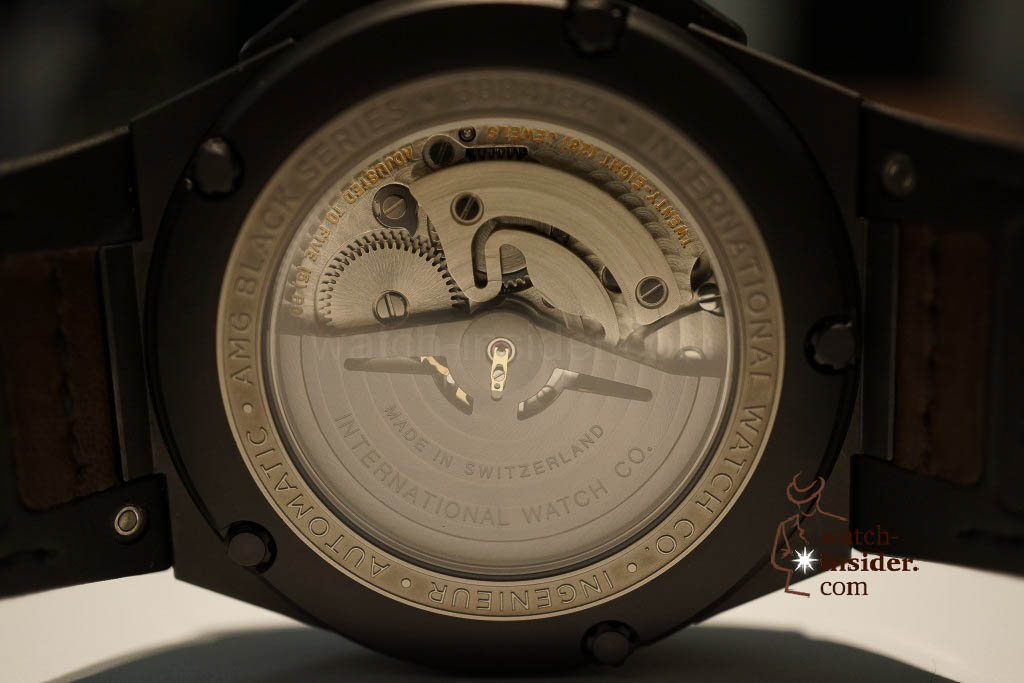 www.watch insider.com | reportages news  | These are the novelties 2013 of IWC presented at the SIHH in Geneva | DSC1454 1024x683
