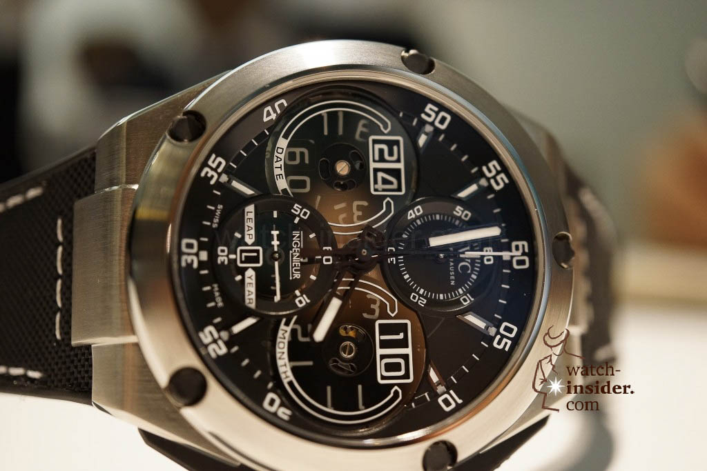 www.watch insider.com | reportages news  | These are the novelties 2013 of IWC presented at the SIHH in Geneva | DSC1457 1024x683