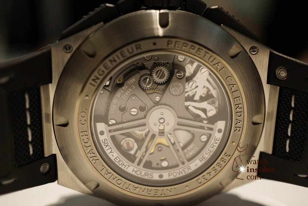 www.watch insider.com | reportages news  | These are the novelties 2013 of IWC presented at the SIHH in Geneva | DSC1462 1024x683