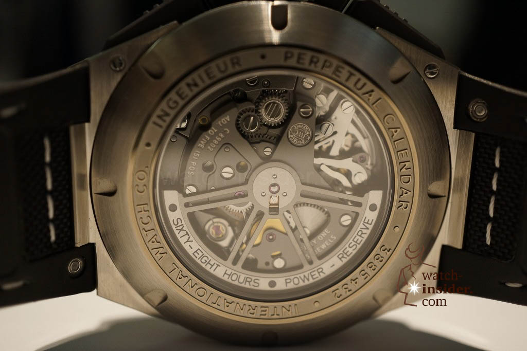 www.watch insider.com | reportages news  | These are the novelties 2013 of IWC presented at the SIHH in Geneva | DSC1463 1024x683