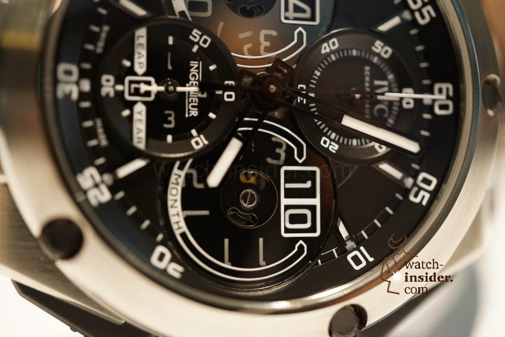 www.watch insider.com | reportages news  | These are the novelties 2013 of IWC presented at the SIHH in Geneva | DSC1466 1024x683
