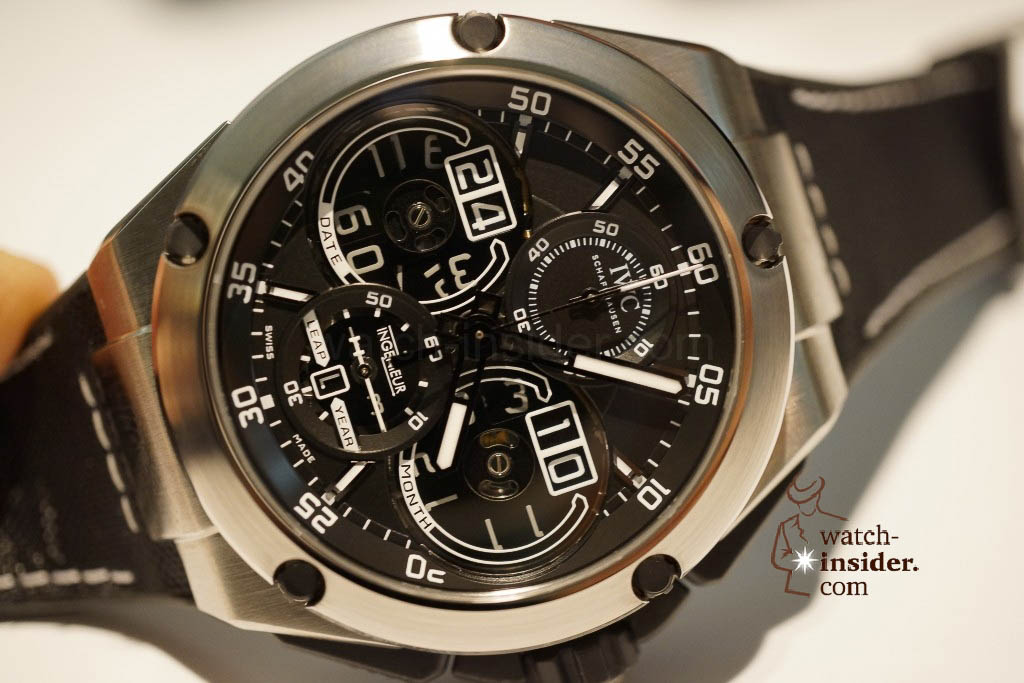 www.watch insider.com | reportages news  | These are the novelties 2013 of IWC presented at the SIHH in Geneva | DSC1470 1024x683