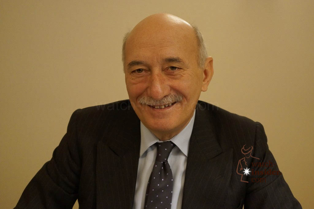 www.watch insider.com | news interviews  | Interview with Angelo Bonati, CEO of Panerai at SIHH 2013 | DSC1472 1024x683