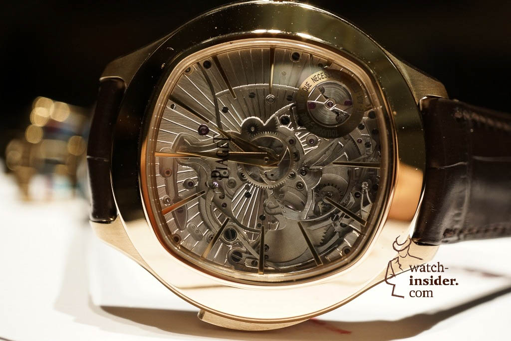 www.watch insider.com | reportages news  |  See the and listen to the Piaget Emperador Coussin Ultra Thin Minute Repeater presented at SIHH 2013 | DSC1519 1024x683