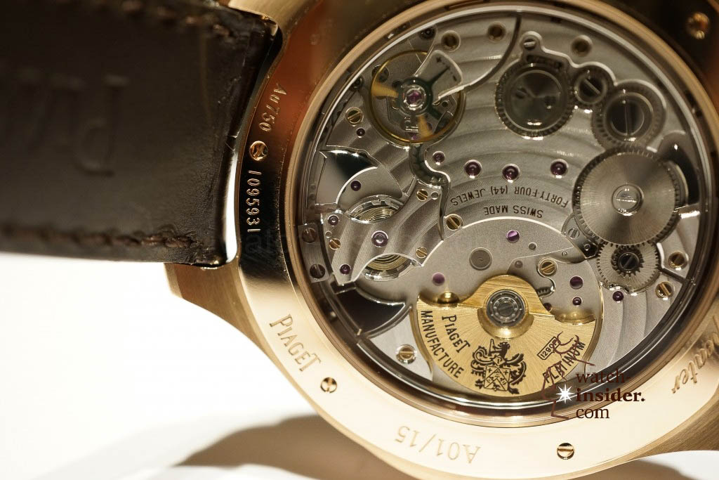 www.watch insider.com | reportages news  |  See the and listen to the Piaget Emperador Coussin Ultra Thin Minute Repeater presented at SIHH 2013 | DSC1536 1024x683
