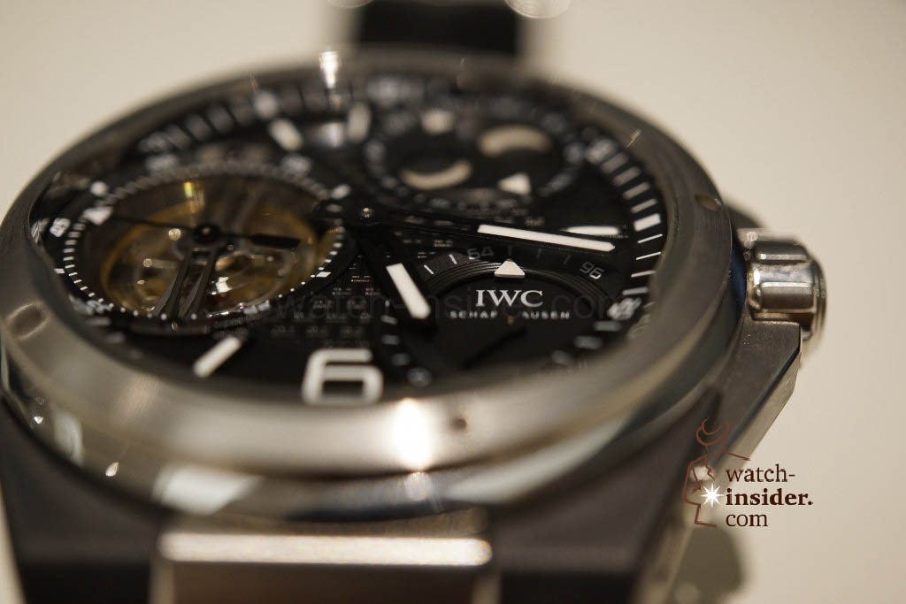 www.watch insider.com | reportages news  | IWC CEO Georges Kern showing me the Ingenieur Constant Force Tourbillon | DSC1556 1024x683