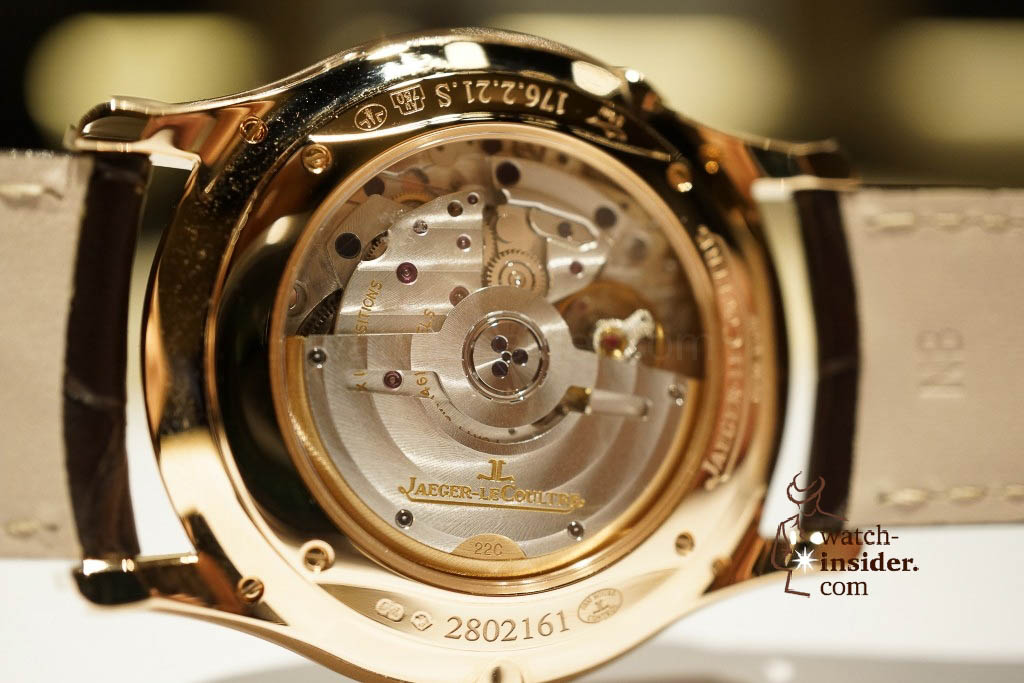 www.watch insider.com | reportages news  | Jaeger LeCoultre SIHH Novelties 2013 presented by CEO Jerome Lambert | DSC1776 1024x683