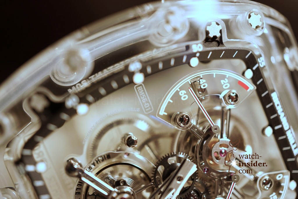 www.watch insider.com | reportages news  | THE TOURBILLON RICHARD MILLE RM 56 01 SAPPHIRE  | DSC1788 1024x683