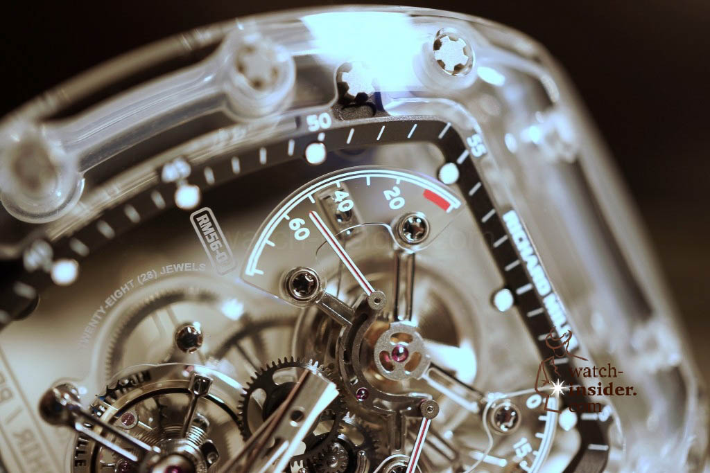 www.watch insider.com | reportages news  | THE TOURBILLON RICHARD MILLE RM 56 01 SAPPHIRE  | DSC1789 1024x683