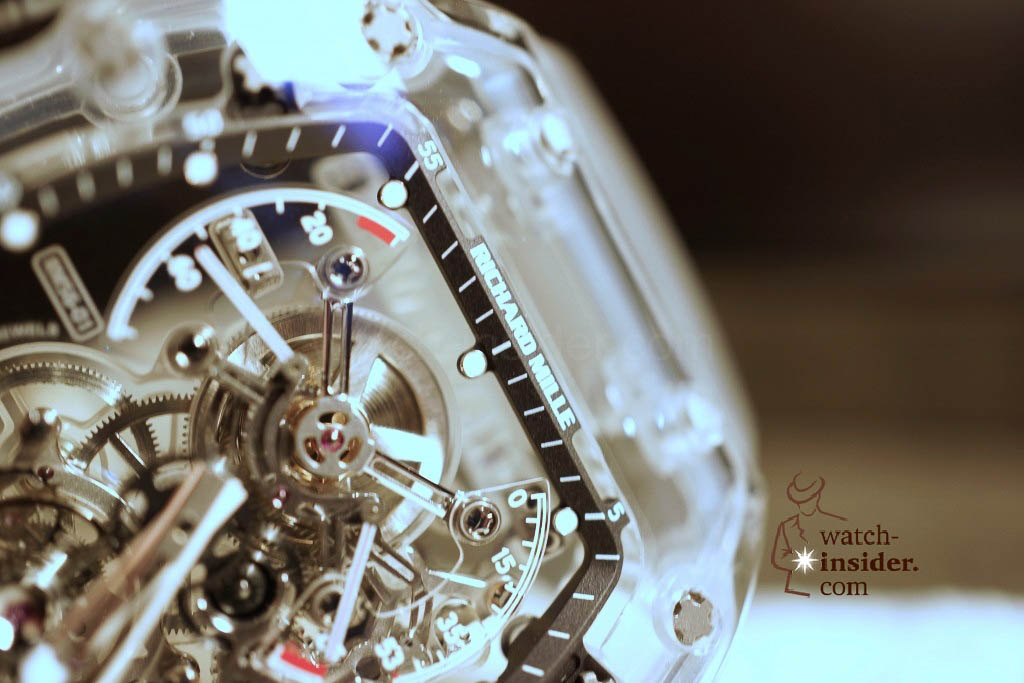 www.watch insider.com | reportages news  | THE TOURBILLON RICHARD MILLE RM 56 01 SAPPHIRE  | DSC1790 1024x683