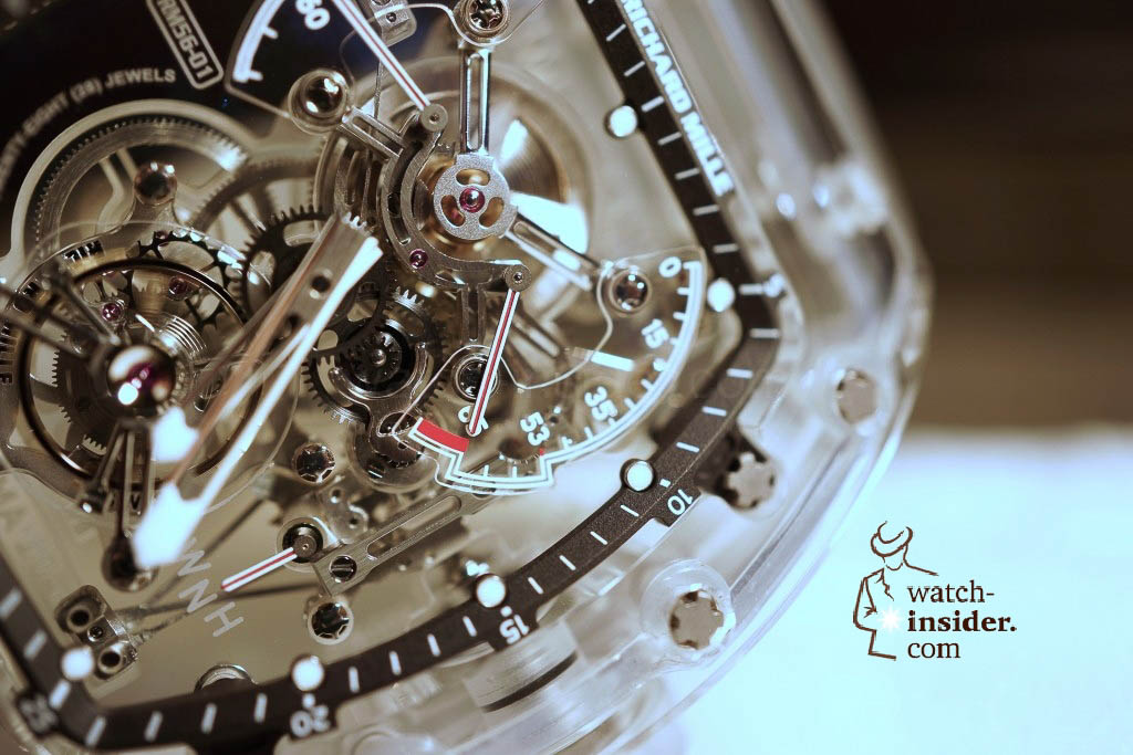 www.watch insider.com | reportages news  | THE TOURBILLON RICHARD MILLE RM 56 01 SAPPHIRE  | DSC1791 1024x683