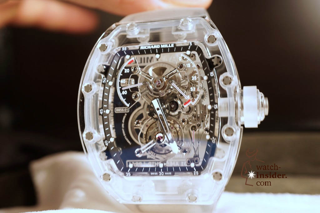 www.watch insider.com | reportages news  | THE TOURBILLON RICHARD MILLE RM 56 01 SAPPHIRE  | DSC1797 1024x683