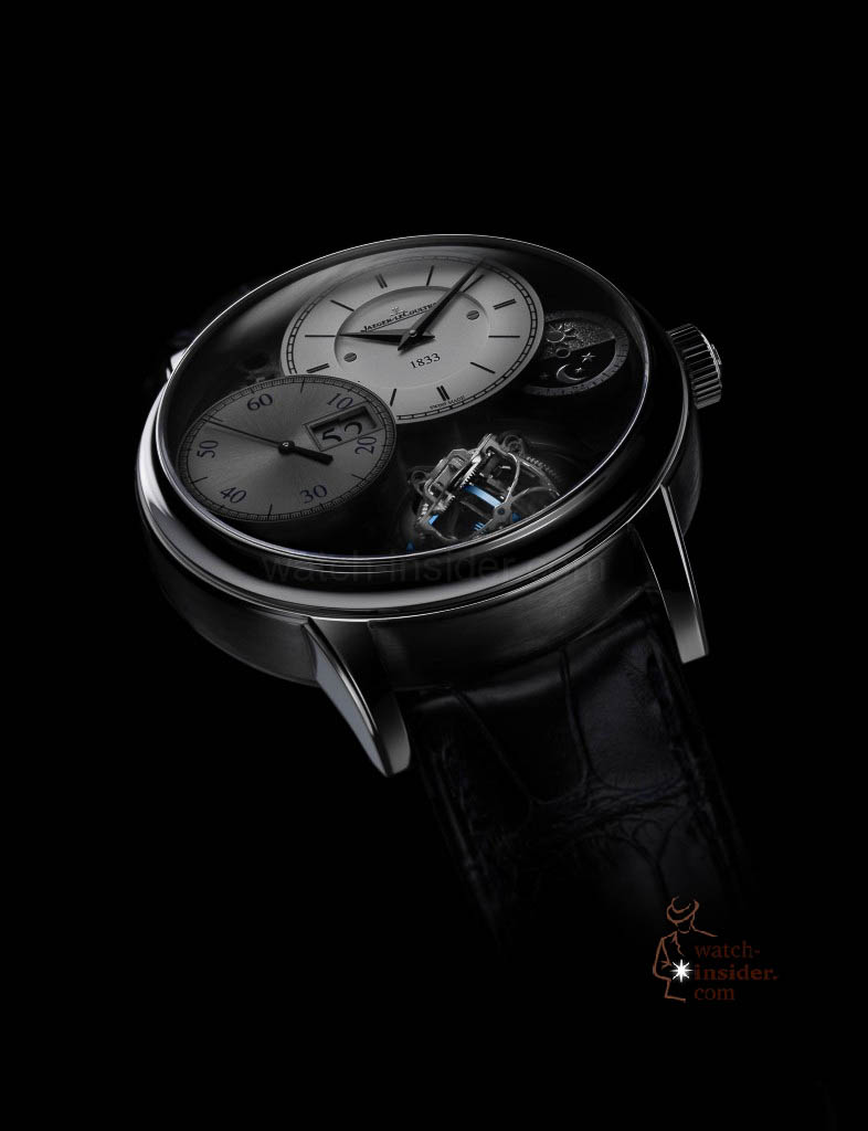 www.watch insider.com | news  | More detailed information about and some more pictures from the Jaeger LeCoultre Master Grande Tradition Gyrotourbillon 3 Jubilee | Master Grande Tradition Gyrotourbillon 3 Jubliee 1 786x1024