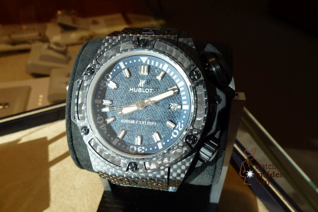 www.watch insider.com | reportages news  | The Hublot Jeans Collection   first live taken pictures | 20130218 174024 1024x682