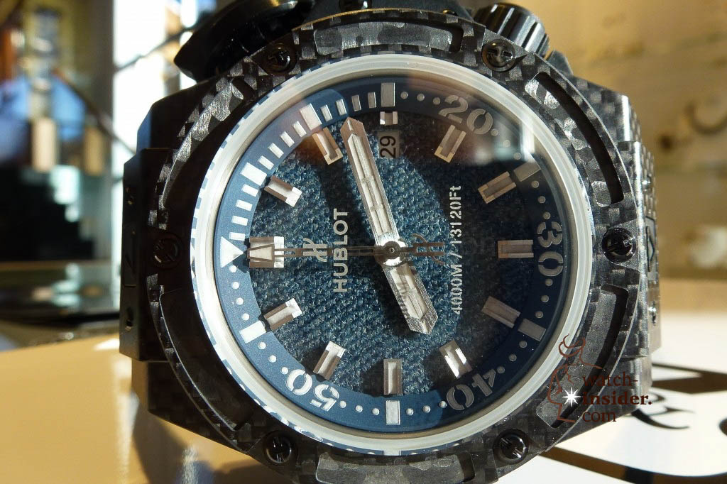 www.watch insider.com | reportages news  | The Hublot Jeans Collection   first live taken pictures | 20130218 174121 1024x682