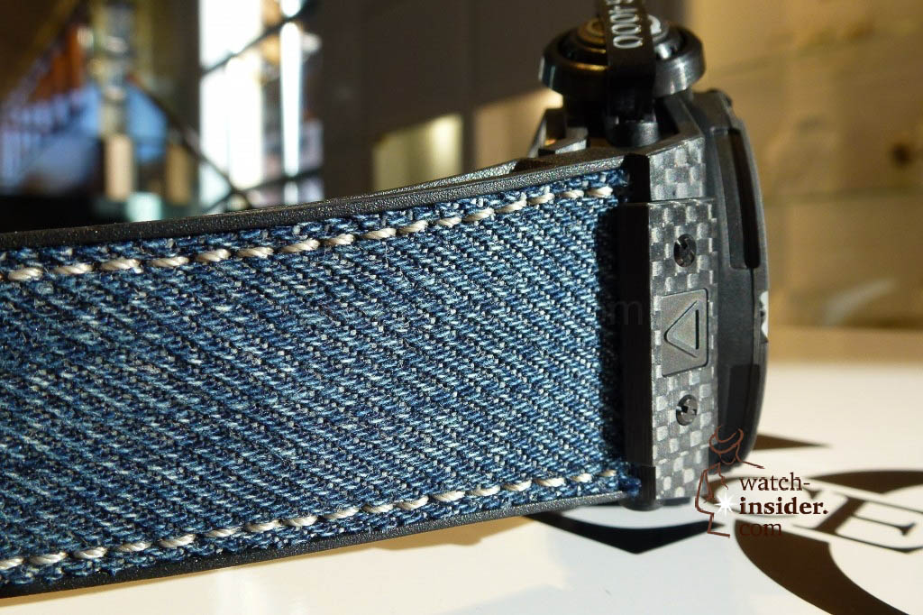 www.watch insider.com | reportages news  | The Hublot Jeans Collection   first live taken pictures | 20130218 174214 1024x682