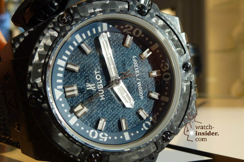 www.watch insider.com | reportages news  | The Hublot Jeans Collection   first live taken pictures | 20130218 174606 1024x682