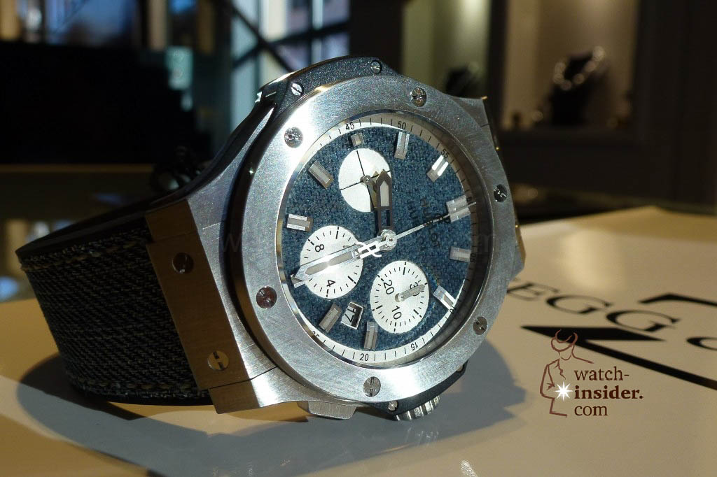 www.watch insider.com | reportages news  | The Hublot Jeans Collection   first live taken pictures | 20130218 174754 1024x682