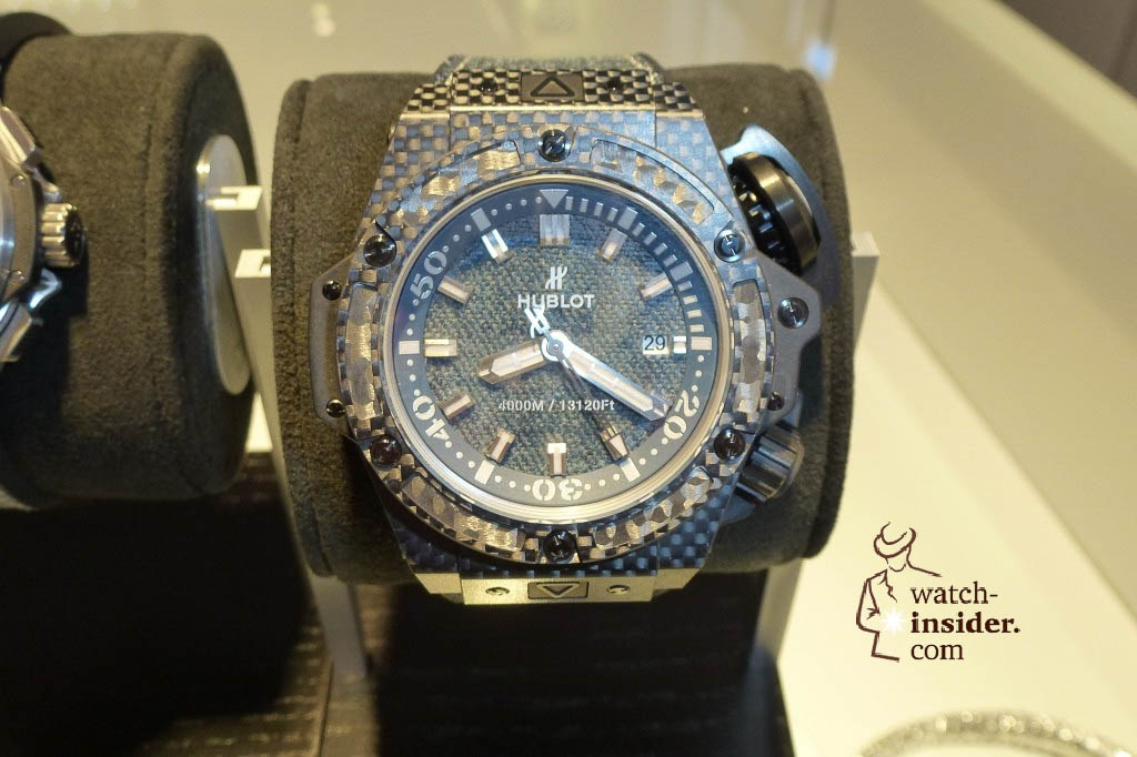 www.watch insider.com | reportages news  | The Hublot Jeans Collection   first live taken pictures | 20130218 175438 1024x682