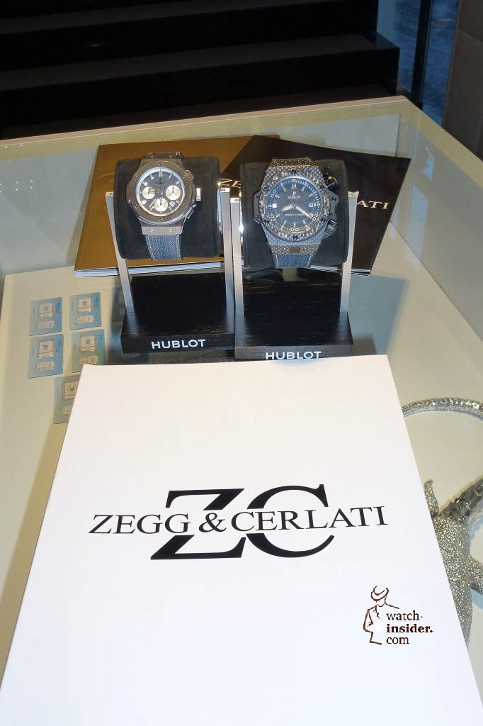 www.watch insider.com | reportages news  | The Hublot Jeans Collection   first live taken pictures | 20130218 175623 682x1024