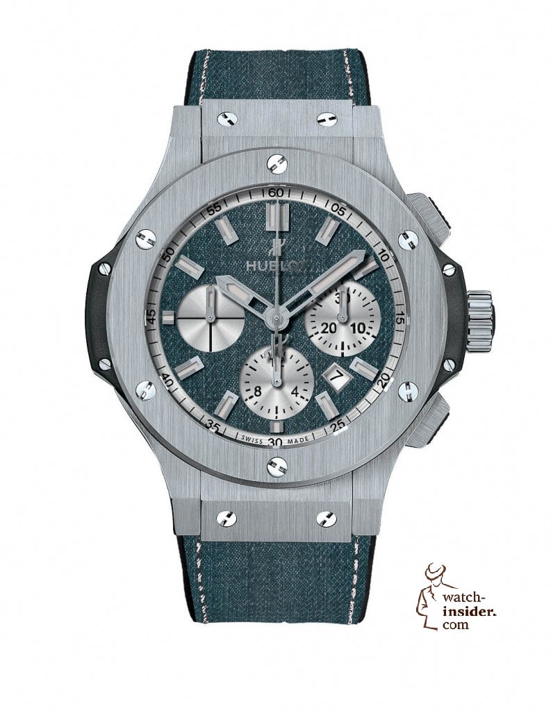 www.watch insider.com | news  | These are the pictures of all the watches of the new Hublot Jeans Collection  | 5813 796x1024