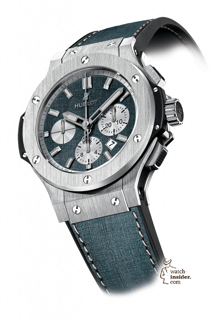 www.watch insider.com | news  | These are the pictures of all the watches of the new Hublot Jeans Collection  | 5814 682x1024
