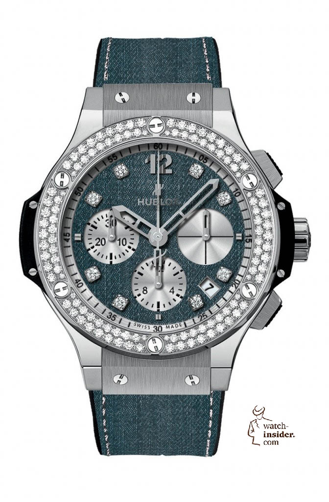 www.watch insider.com | news  | These are the pictures of all the watches of the new Hublot Jeans Collection  | 5815 672x1024