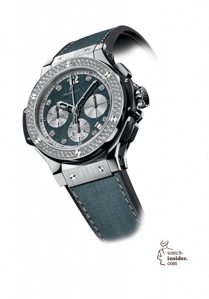 www.watch insider.com | news  | These are the pictures of all the watches of the new Hublot Jeans Collection  | 5816 716x1024