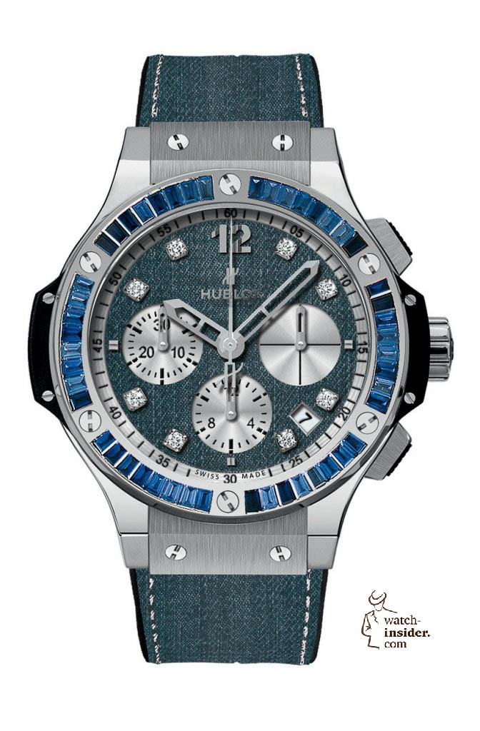 www.watch insider.com | news  | These are the pictures of all the watches of the new Hublot Jeans Collection  | 5817 672x1024