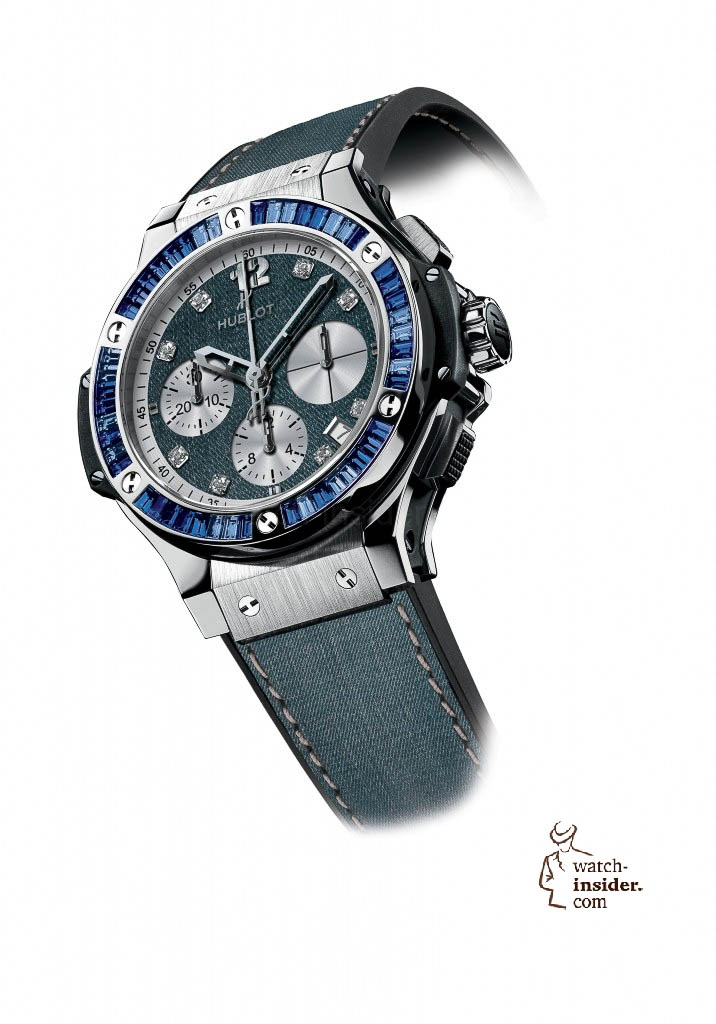 www.watch insider.com | news  | These are the pictures of all the watches of the new Hublot Jeans Collection  | 5818 716x1024