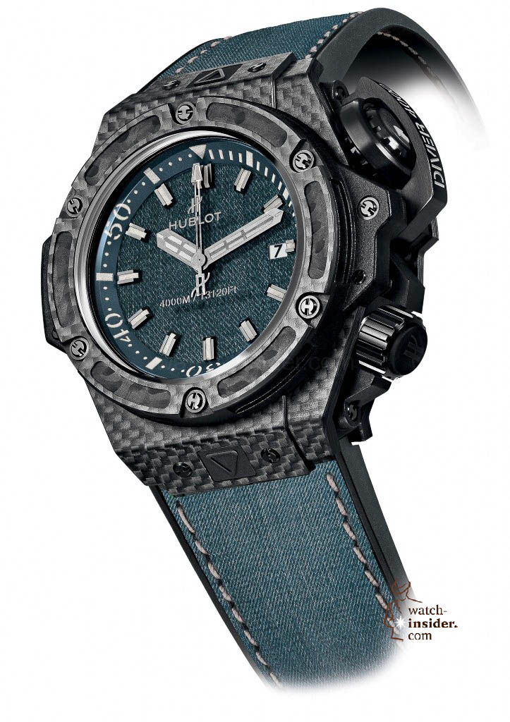 www.watch insider.com | news  | These are the pictures of all the watches of the new Hublot Jeans Collection  | 5821 723x1024