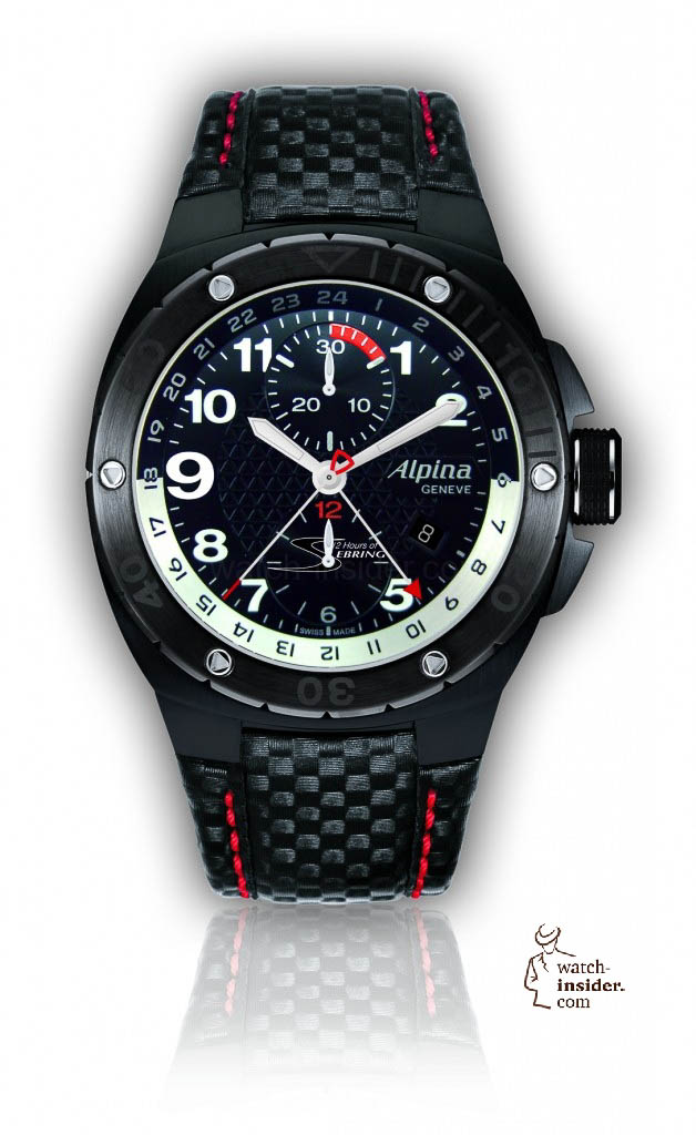 www.watch insider.com | reportages  | Black is beautiful! Black is still a dominant colour used for watch design. Tell me which one is your personal favorite | ALPINA 750LBR5FBAR6 628x1024