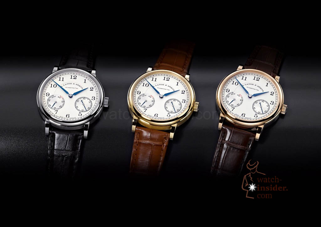 www.watch insider.com | reportages news  | The A. Lange & Söhne Boutique Tour 2013. See and touch the novelties just presented at the SIHH | ALS 234 021 026 032 3erGruppe SIHH 2013 A6 1024x723