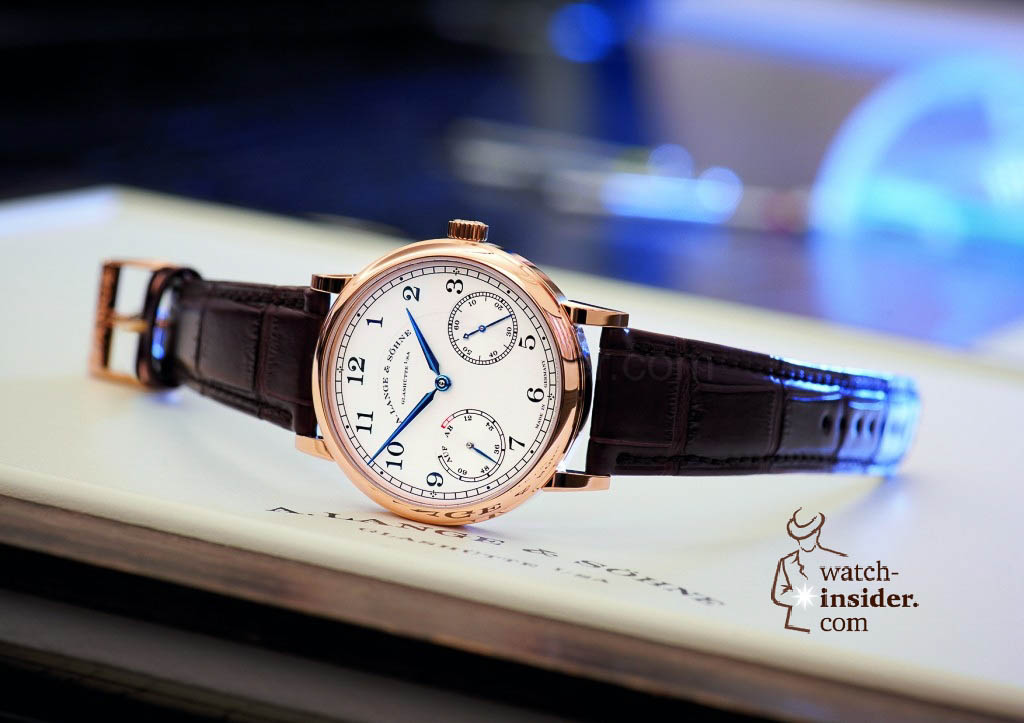 www.watch insider.com | reportages news  | The A. Lange & Söhne Boutique Tour 2013. See and touch the novelties just presented at the SIHH | ALS 234 032 SIHH 2013 A6 1024x723