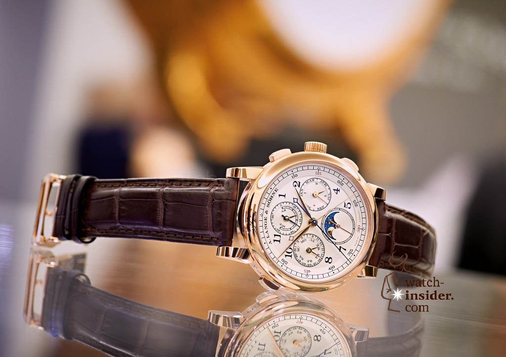 www.watch insider.com | reportages news  | The A. Lange & Söhne Boutique Tour 2013. See and touch the novelties just presented at the SIHH | ALS 421 032 SIHH 2013 02 A6 1024x723