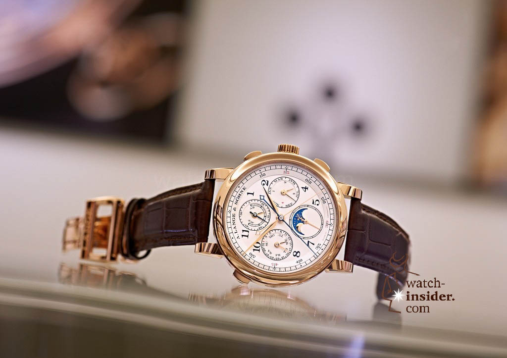 www.watch insider.com | reportages news  | The A. Lange & Söhne Boutique Tour 2013. See and touch the novelties just presented at the SIHH | ALS 421 032 SIHH 2013 03 A6 1024x723