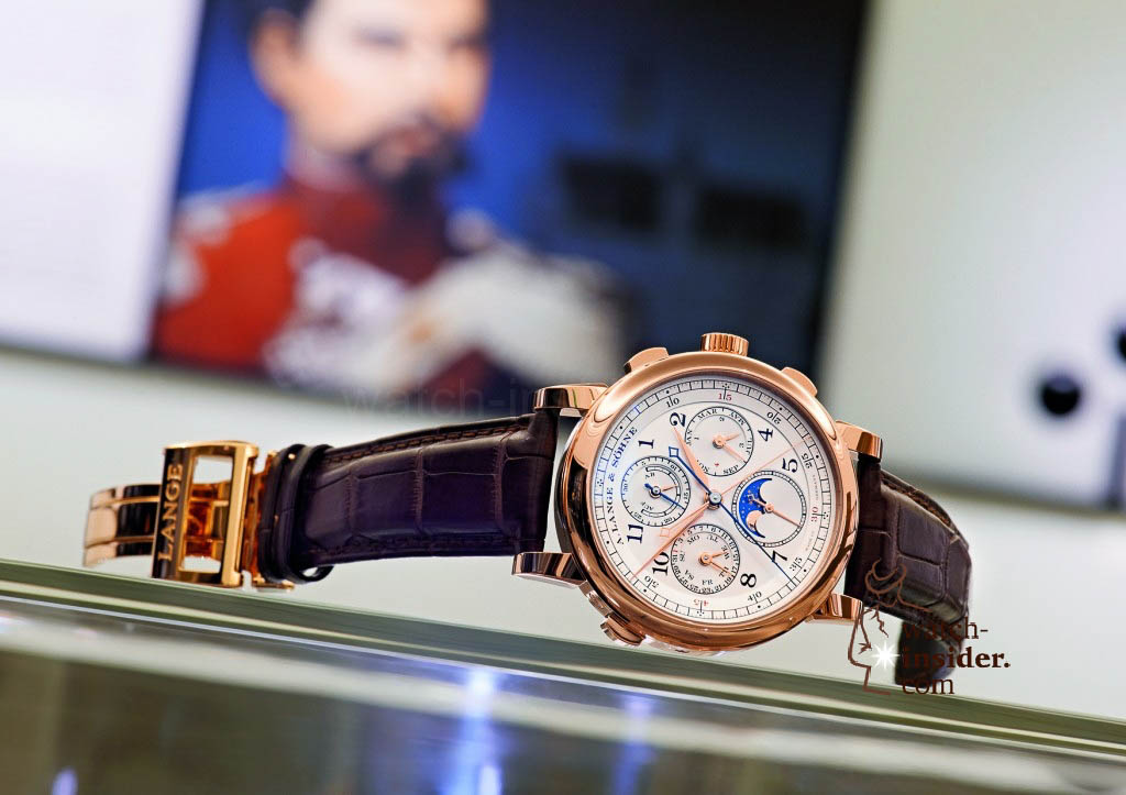 www.watch insider.com | reportages news  | The A. Lange & Söhne Boutique Tour 2013. See and touch the novelties just presented at the SIHH | ALS 421 032 SIHH 2013 A6 1024x723