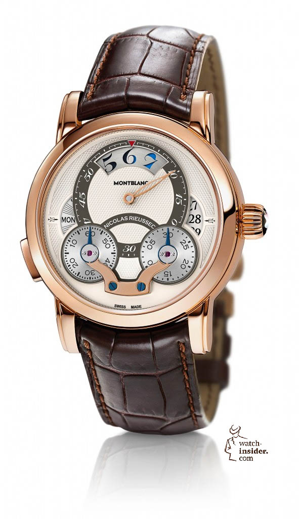 www.watch insider.com | reportages  | Discover my personal ten favorite watches from the SIHH 2013 in Geneva | Montblanc 108789 Nicolas Rieussec Rising Hours 591x1024