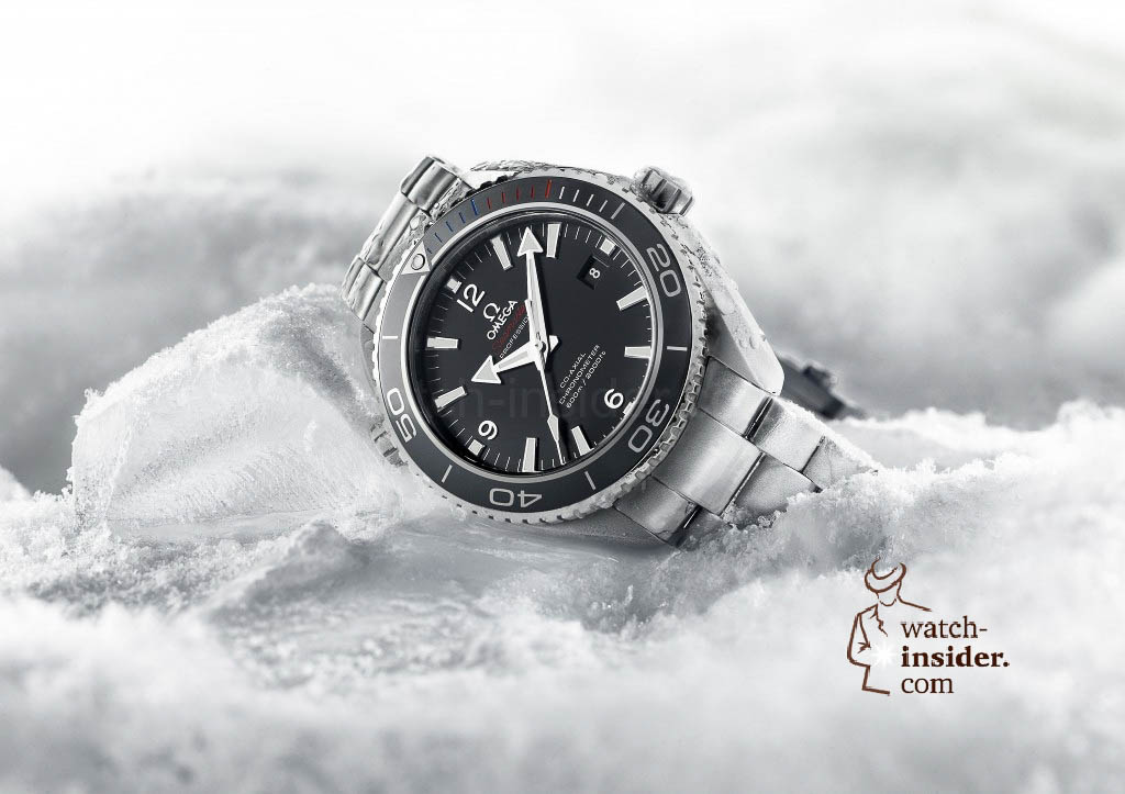 www.watch insider.com | news  | Omega just launched two Planet Ocean watches to commemorate the Olympic Games in Sochi 2014 | Omega Planet Ocean Sochi 2014 522.30.46.21.01.001 pr 1024x723
