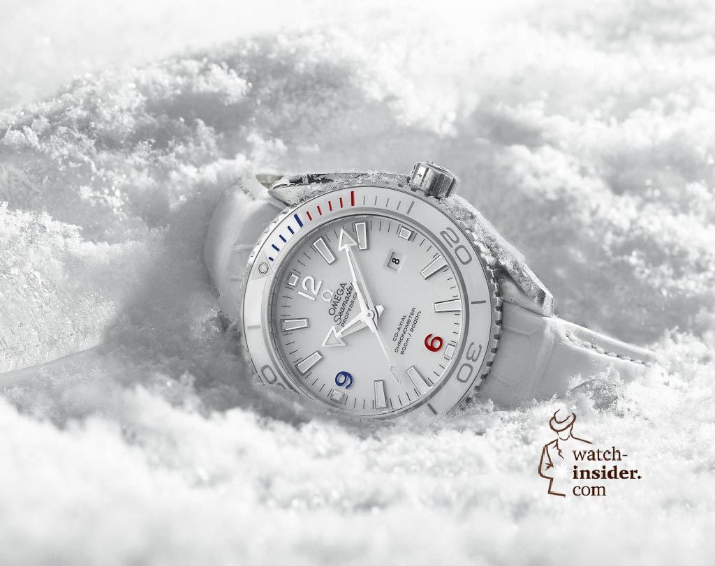 www.watch insider.com | news  | Omega just launched two Planet Ocean watches to commemorate the Olympic Games in Sochi 2014 | Omega Planet Ocean Sochi 2014 522.33.38.20.04.001 pr 1024x811