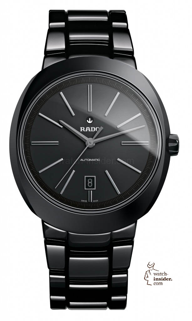 www.watch insider.com | reportages  | Black is beautiful! Black is still a dominant colour used for watch design. Tell me which one is your personal favorite | Rado D Star Automatik Black R15 609 17 2 614x1024