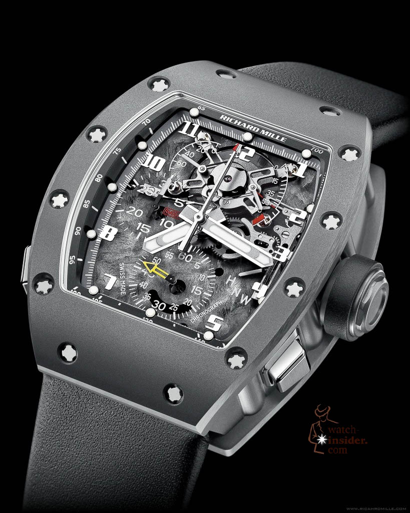 www.watch insider.com | reportages  | Black is beautiful! Black is still a dominant colour used for watch design. Tell me which one is your personal favorite | Richard Mille RM004 819x1024