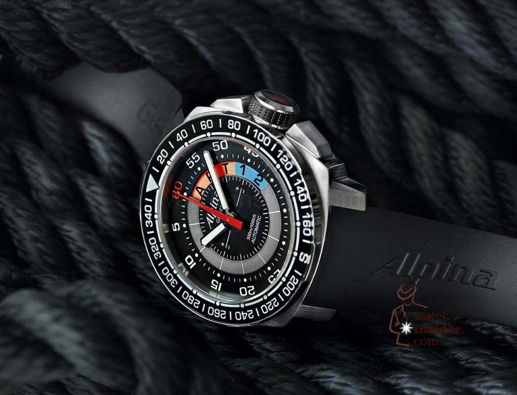 www.watch insider.com | news  | This is a brief outlook for the Baselworld 2013. I invite you to discover my first Basel preview. | Alpina Geneve Sailing Yachttimer AL 880LBN4V6 03 1024x782